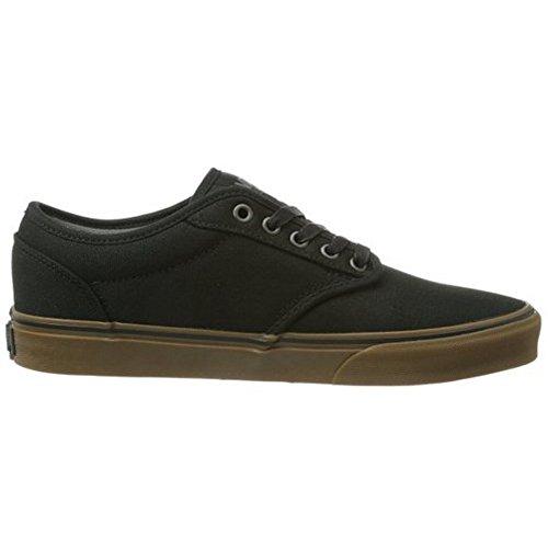 fa5980fb700d1 Vans Men s Atwood (12 oz Canvas) Black Gum Skate Shoe 9.5 Men ...