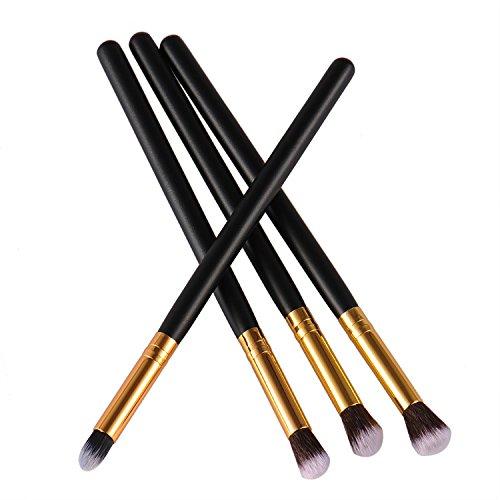 4pcs herramientas de maquillaje sombra de ojos Foundation mezclado Juego de brochas GDRAVEN