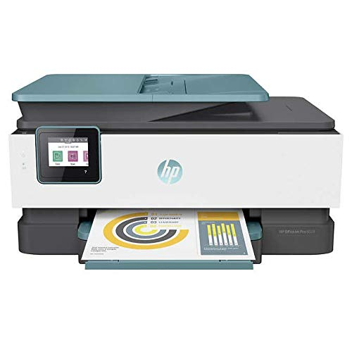 HP Officejet Pro 8028/8025 All-in-One Printer, Scan, Copy, Fax, Wi-Fi and Cloud-Based Wireless Printing (3UC64A)