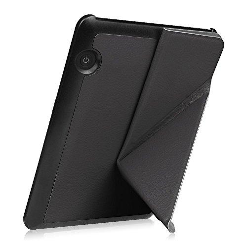 d4da073953ead Capa Case Kindle Voyage WB® Auto Liga Desliga - Origami Preta