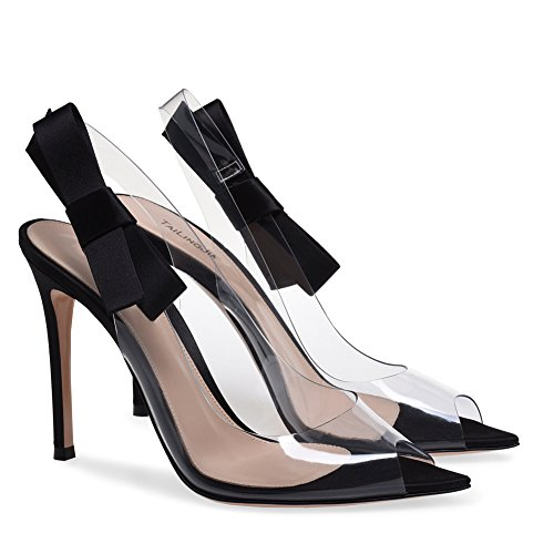 XUE Women's Shoes PU Summer Comfort Sandals Walking Shoes Stiletto Heel Pointed Heel Wedding/Party & Evening/Dress Sandals/Slippers & Flip-Flops Formal Business Work Wedding B WVOMucW