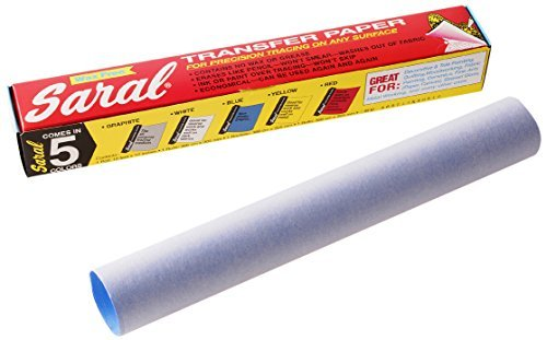 - Saral 12-inch x 12 ft/ 304 x 3.35 m Transfer Paper Roll, Blue by Saral