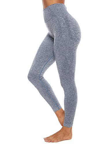 Women's High Waist Sports Yoga Pants Seamless Push Up Gym Workout Fitness Leggings