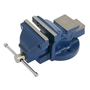 3 Quot Fixed Metal Bench Vice Amazon Co Uk Diy Amp Tools
