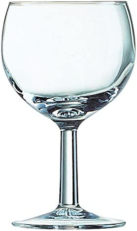 Luminarc Copa de Vino Ballon, Paquete de 6, 8 cm: Amazon.es ...
