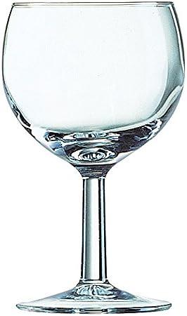 Paquete: 6 copas de vidrio,Perfecta para el uso diario y frecuente,Forma y tamaño especial para vino