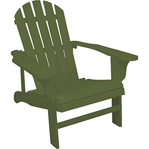 (Leigh Country Classic Sage Painted Wood Adirondack Chair)