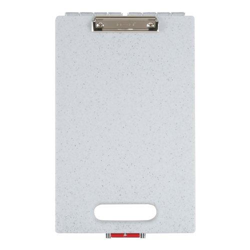 Dexas Office Clipcase Storage Clipboard, Granite Pattern