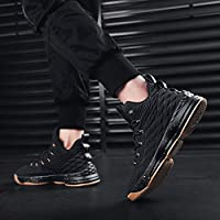 COSDN Womens Mens Fashion High-Top Breathable Shock Absorption Basketball Shoes Athletic Running Lightweight Youth Sneakers