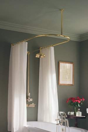 Myson Shower Curtain Rails - 3