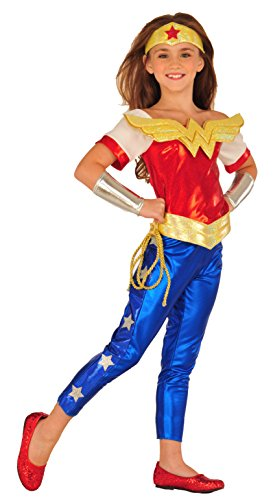 Imagine by Rubies DC Superheroes Wonder Woman Dress Up Outfit, Small (Superhero Outfits)