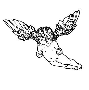 Zhyp Wall Sticker Habitación Del Bebé Que Vuela Pequeño Angelito ...
