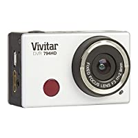 """Vivitar Full 1080p HD action cam with Remote control and 2"""" LCD Screen - Color and Styles May Vary (Discontinued by Manufacturer) from Sakar International, Inc."""