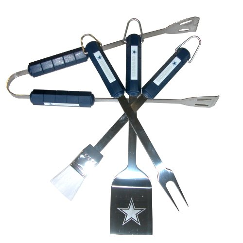 NFL Dallas Cowboys 4-Piece Barbecue Set -