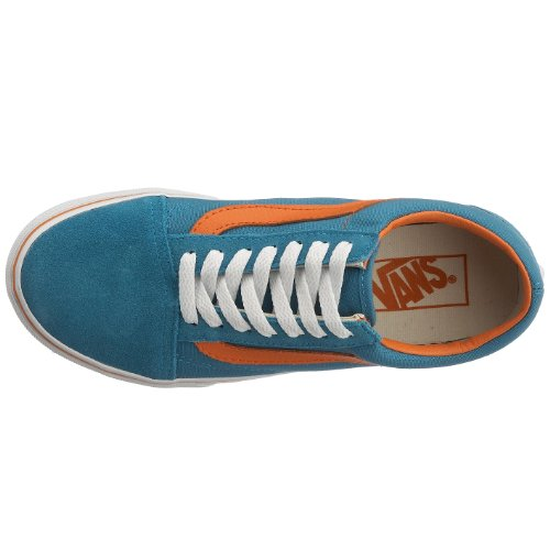 Vans Old Skool, Zapatillas Unisex Adulto Azul (Blue Moon/Amber Glow)