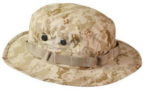干渉する帰る自己(ロスコ)Rothco 米軍 ブーニーハット Boonie Hat デザートデジタルカモフラージュ S