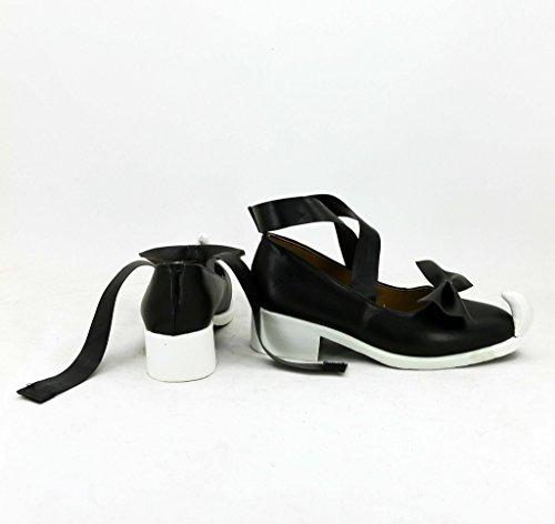 Maggiordomo Nero Kuroshitsuji Smeraldo Strega Sieglinde Sullivan Scarpe Cosplay Stivali Su Misura