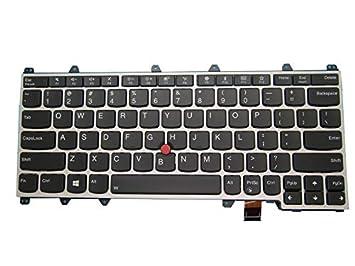 Teclado para portátil Lenovo ThinkPad Yoga 370 Inglés US ...