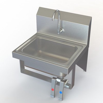 Stainless Wall Mount Hand Sink