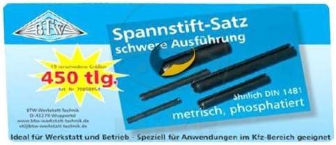 BOX-SP280 Spannstifte-Sortiment 280 tlg.