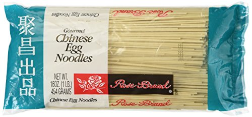 Chinese Egg Noodles (Rose Brand - Gourmet Chinese Egg Noodles 16 Oz.)