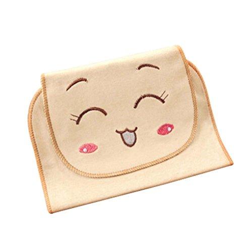 Cute Face Cartoon Baby Towels Soft Cotton Material Babies Towel, 32x24cm