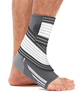 Bonmedico Piedo Adjustable Ankle Brace and Ankle Support, Bilateral Joint Support, Pain-Relieving Compression Bandage For Sports And Fitness