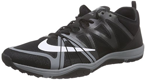 Nike Donna Cross Cross Competere Cross Trainer Nero / Cool Grigio / Bianco