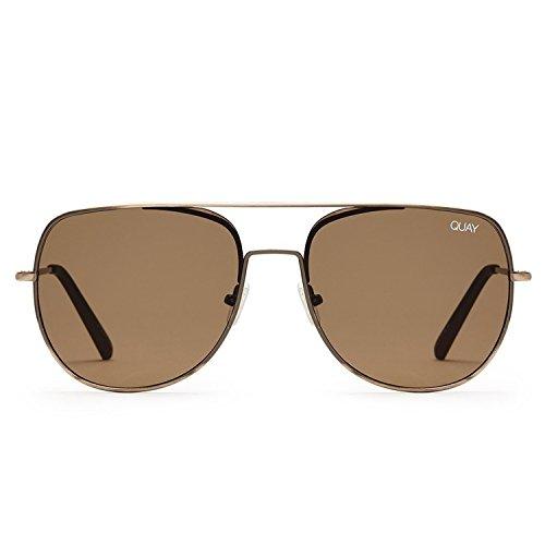 Quay Australia LIVING LARGE Men's Sunglasses Versatile Aviator - - Sunglasses Australia Mens