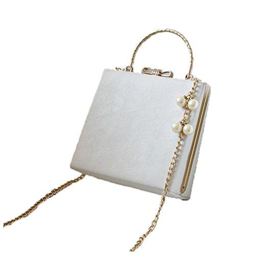 Retro Clutch Handbag color Party Shoulder Purse Evening ZJ picture Bag Bag 4 amp;OS Black Women EqFxnwtOY