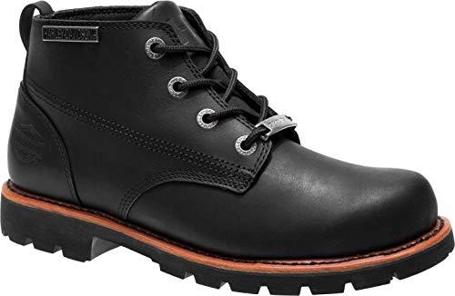 HARLEY-DAVIDSON FOOTWEAR Men's Broxton Motorcycle Boot, Black, 10.0 M US