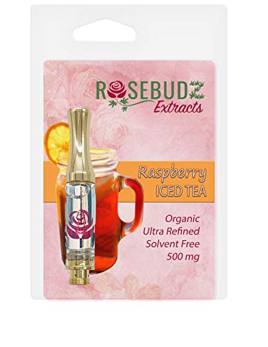 Hemp Oil 500mg (1/2 Gram) Cartridge Flavor: Raspberry Iced Tea