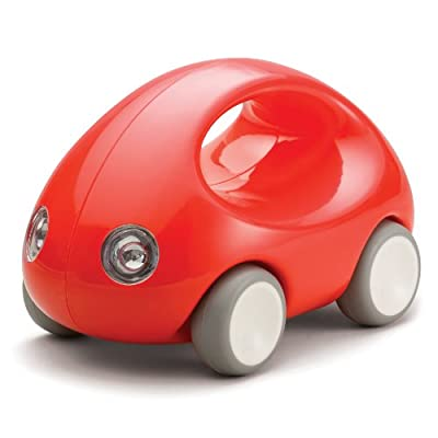 Kid O Go Car Early Learning Push & Pull Toy - Red: Toys & Games