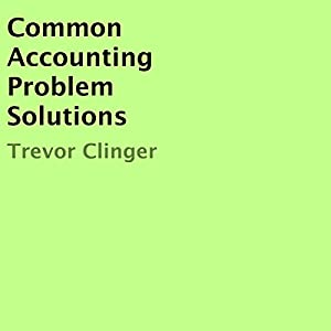 Common Accounting Problem Solutions Audiobook