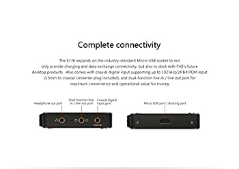 Fiio E17k Alpen 2 Usb Dac Headphone Amplifier 4