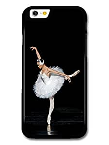 AMAF ? Accessories Ballet Dancer on Spotlight with White Ballet Skirt Swan case for iPhone 6 wangjiang maoyi by lolosakes