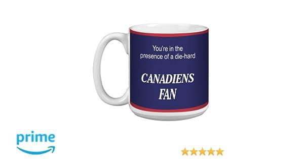 20-Ounce Tree Free Tree-Free Greetings XM28183 Canadiens Hockey Fan Artful Jumbo Mug