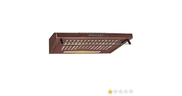 Bomann Campana extractora DU 622 color marrón - Vendedores Amazon. Ofertas para tu Hogar.: Amazon.es: Hogar