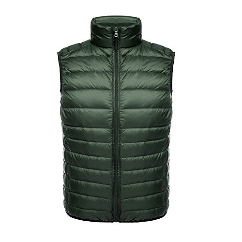 Gilet Stand Down light Piumino Green Giacche Uomo Ultra Weatherproof Collar Coat Ake qTft5w