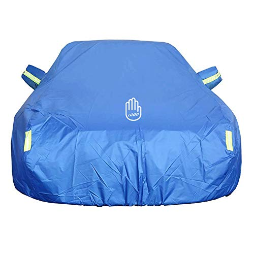 JYCZ Waterproof Car Cover Large|Small,Suitable for Volkswagen Golf SV (Color : Blue)