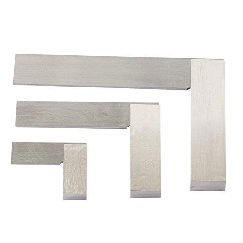 YaeTek Machinist Squares 90 Degree Right Angle Engineer's Set- 2'' 4'' 6'' DIN STANDARD 875, Machinist Square Set, 3-PIECE by YaeTek (Image #3)