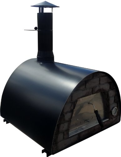 "Mobile / Portable Wood Fired Pizza Oven ""Maximus"" (black)"