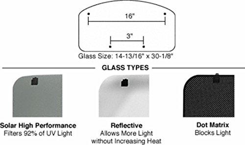 (CRL/SFC 17 x 32 NewPort Sunroof High Performance Solar Glass With RL110 Latch)
