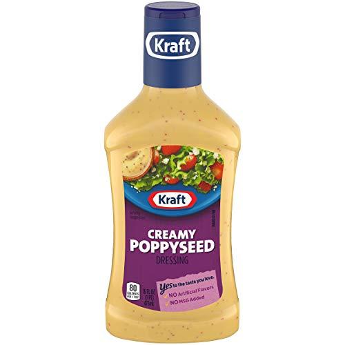 Kraft Creamy Poppyseed Dressing, 16 fl oz Bottle