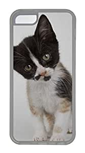iCustomonline Calico Kitten Case for iPhone 5C TPU Black