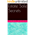 Estate Sale Secrets