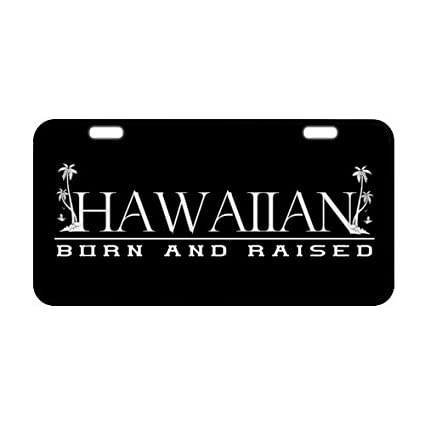 Amazon Com 6 1 X 11 8 Funny Saying Quotes Hawaiian Born And