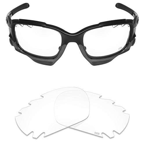 Mryok+ Polarized Replacement Lenses for Oakley Jawbone Vented/Racing Jacket Vented - HD Clear ()