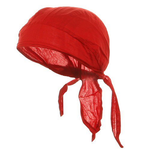 Solid Color Series Head Wraps-Red OSFM