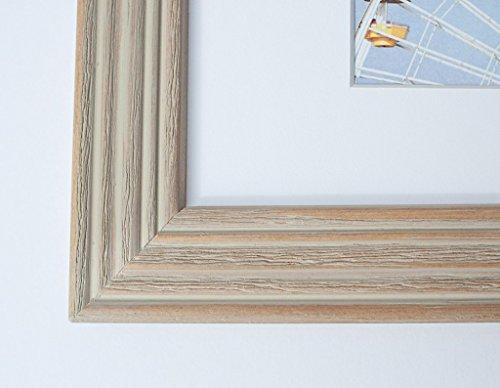 Framed Art Print - Coastal Beach Wall Decor 11x14 Rustic Wood ...